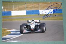 David Coulthard on action photo - McLaren